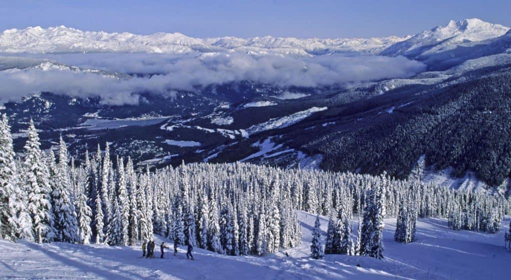 Whistler BC Canada Winter